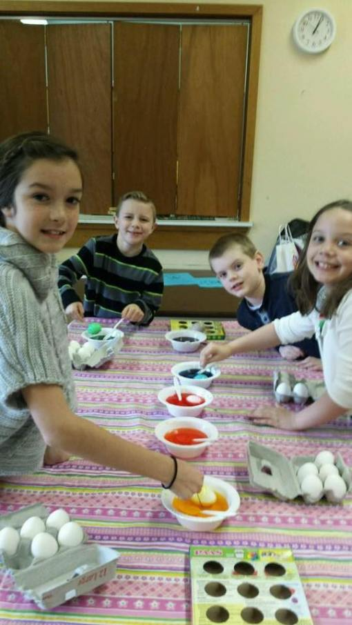 Jr youth egg dying