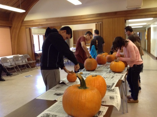 Carving and Decorating Pumpkins