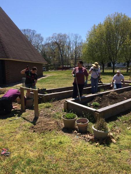 Planting spring crops