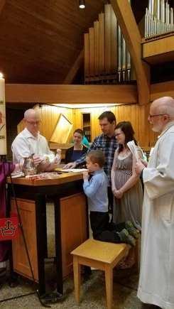 Baptism Zachary John